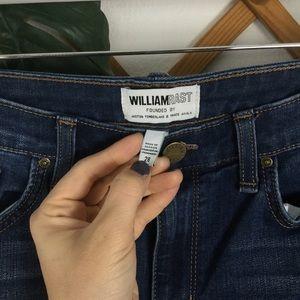 William Rast Jeans - William Rast Slim Straight Blue Jeans Size 28